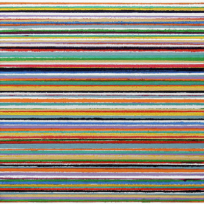 Painting - Stripes B by Stan  Magnan