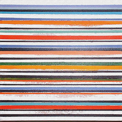 Painting - Stripes F by Stan  Magnan