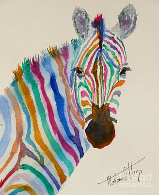 Zebra Patterns Painting - Stripes by Mohamed Hirji