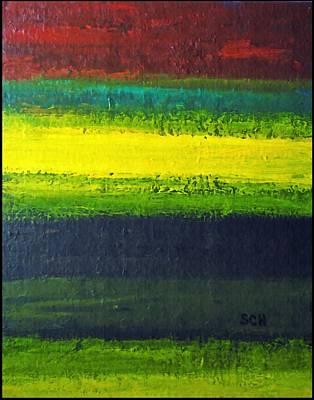 Stripes Number 3 Art Print by Scott Haley