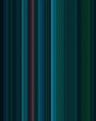 Colours Painting - Stripes Of A Moment #v001 by Eva Vladi