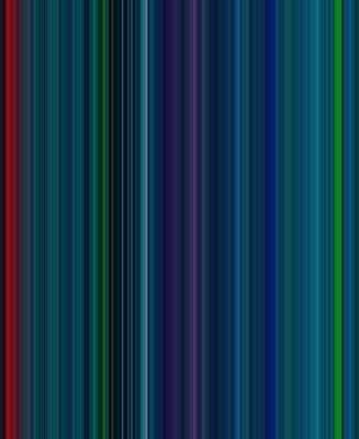 Stripe Digital Art - Stripes Of A Moment #v005 by Eva Vladi