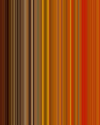 Stripes Of A Moment #v006 Print by Eva Vladi