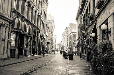Old Montreal Photograph - Stroll  by Daniel Drzymalski