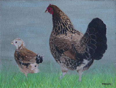 Painting - Stroll by Masami Iida