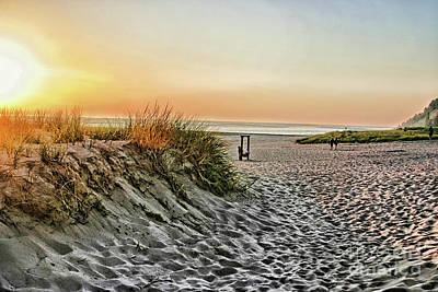 Photograph - Stroll On The Beach by Joan Bertucci