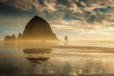 Photograph - Stroll On The Coast by Andrew Soundarajan