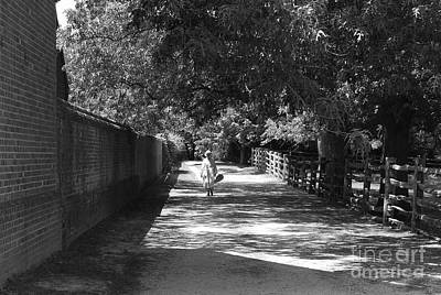 Art Print featuring the photograph Stroll To Store by Eric Liller