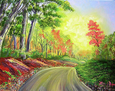 Painting - Strolling Down Old Rapidan Road  by Lee Nixon