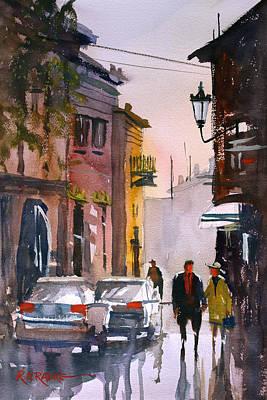 Strolling In Greece Original by Ryan Radke
