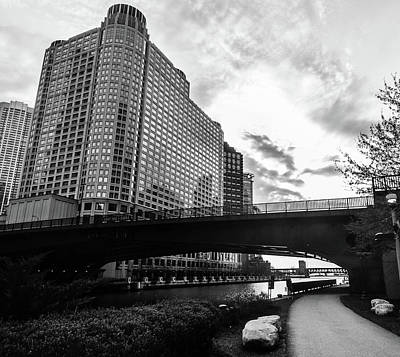 Photograph - Strolling In The Chi by D Justin Johns