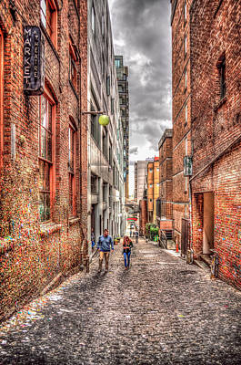 Photograph - Post Alley Stroll by Spencer McDonald