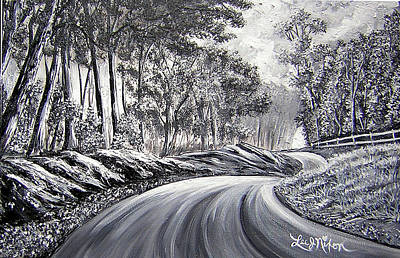 Painting - Strollling Down Old Rapidan Road by Lee Nixon