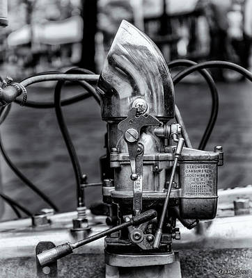 Photograph - Stromberg Carburetor by Ken Morris
