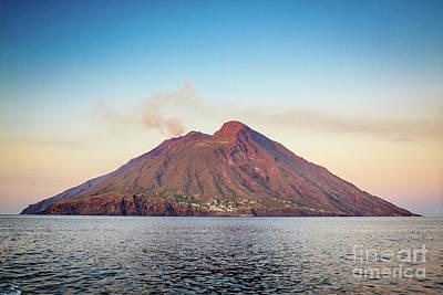 Photograph - Stromboli Island by Arnaldo Tarsetti