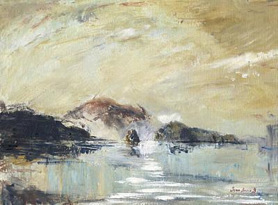 Painting - Stromboli Sicily by Juan Bosco