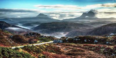 Photograph - Strone Mist by Chris Puddephatt