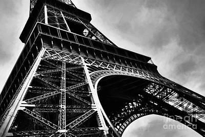 Strong As Steel In Paris Art Print by Mel Steinhauer