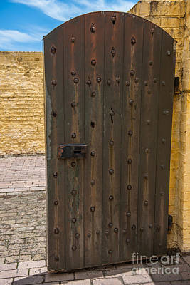 Photograph - Strong Door To Fort Moultrie by Dale Powell