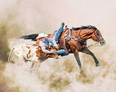 Photograph - Strong Hearts And Fast Horses by Ron McGinnis