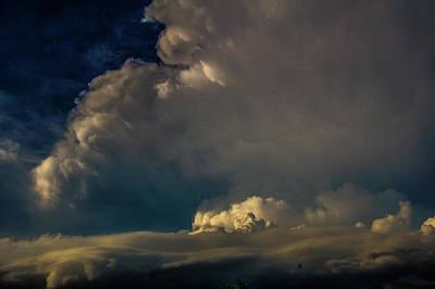 Photograph - Strong Nebraska Thunderstorms 017 by NebraskaSC