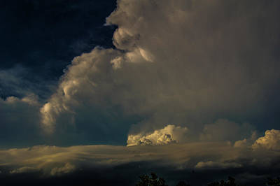 Photograph - Strong Nebraska Thunderstorms 019 by NebraskaSC
