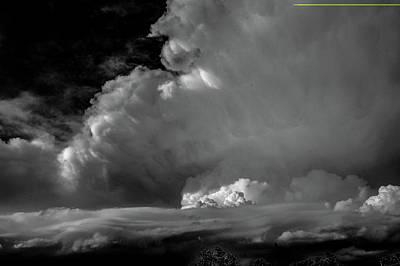 Photograph - Strong Nebraska Thunderstorms 020 by NebraskaSC