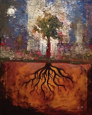 Painting - Strong Roots by Justin Lee Williams