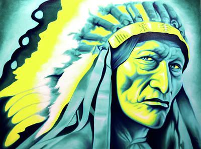 Robert Martinez Painting - Strong Signal by Robert Martinez