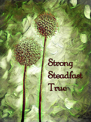 Photograph - Strong Steadfast True by Leslie Montgomery