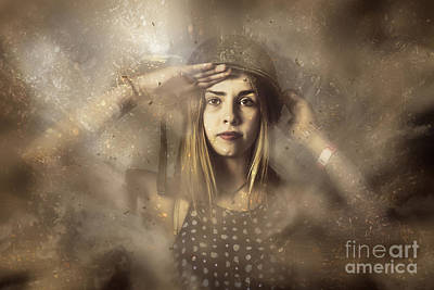 Photograph - Strong Tough And Beautiful Pinup Soldier Girl  by Jorgo Photography - Wall Art Gallery