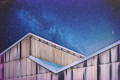 Structure And Stars Art Print