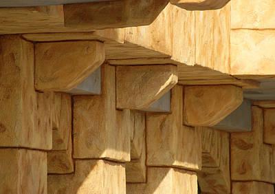 Photograph - Structure by Lori Mellen-Pagliaro