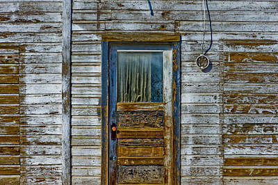 Old Door Photograph - Structure.2387 by Gary LaComa
