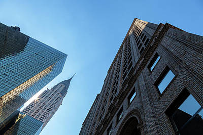 Photograph - Structures Of Nyc 1 by Jonathan Nguyen