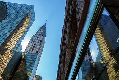 Photograph - Structures Of Nyc 2 by Jonathan Nguyen