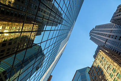 Photograph - Structures Of Nyc 3 by Jonathan Nguyen