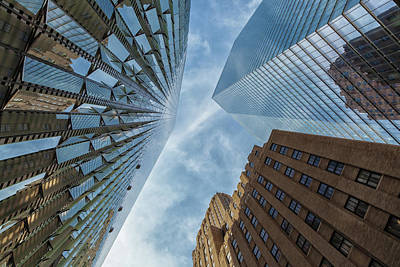 Photograph - Structures Of Nyc 6  by Jonathan Nguyen