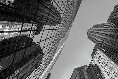 Photograph - Structures Of Nyc 7-bw by Jonathan Nguyen