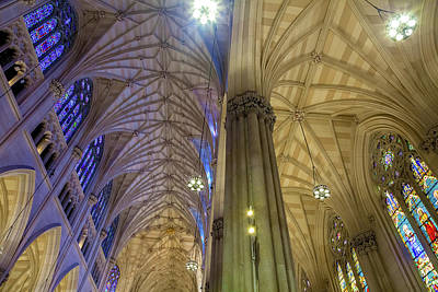 Photograph - Structures Of St. Patrick 6 by Jonathan Nguyen