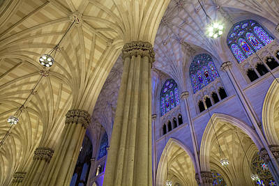 Photograph - Structures Of St. Patrick 7 by Jonathan Nguyen