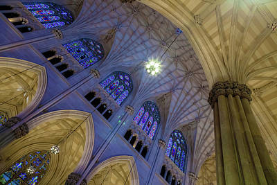 Church Fixture Photograph - Structures Of St. Patrick 8 by Jonathan Nguyen