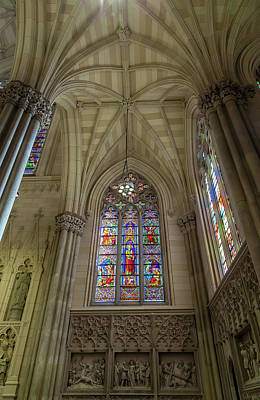 Photograph - Structures Of St. Patrick Cathedral 3 by Jonathan Nguyen