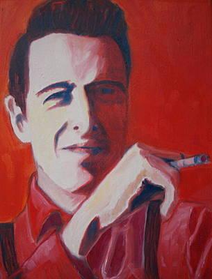 Joe Strummer Painting - Strummer by Natasha Laurence
