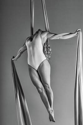 Photograph - Strung Taut Silks by Monte Arnold
