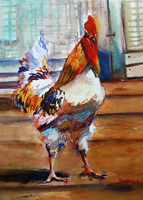 Struttin Art Print by Joyce A Guariglia