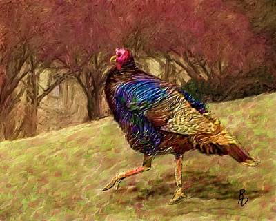 Digital Art - Struttin' My Stuff by Ric Darrell