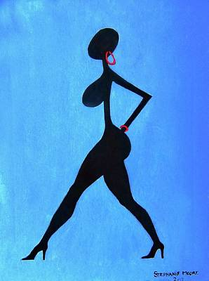 Painting - Struttin' by Stephanie Moore