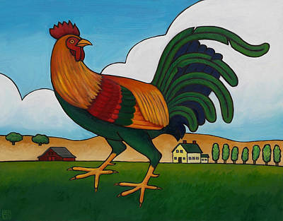 Painting - Struttin Stuff by Stacey Neumiller