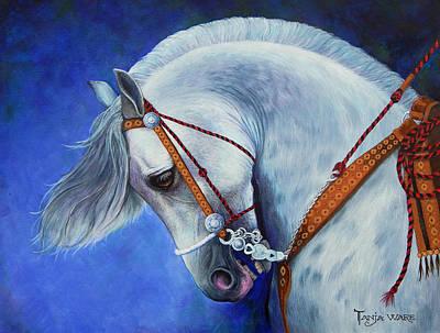 Spanish Horses Painting - Struttin' by Tanja Ware
